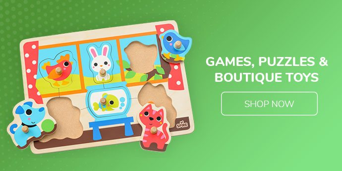 Games, Puzzles & Boutique Toys