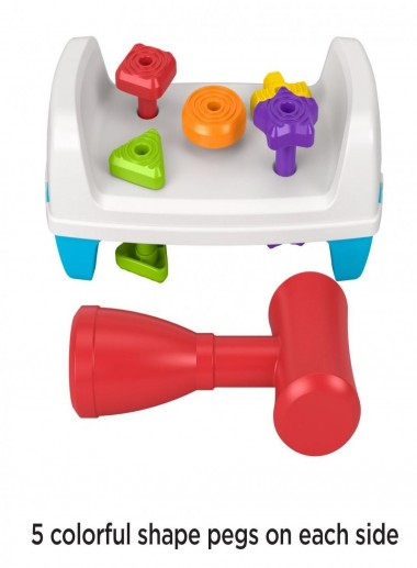 Fisher-Price Tap & Turn Bench, Double-Sided