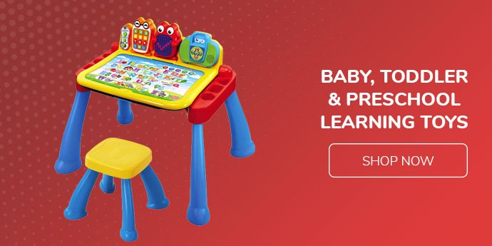 Baby, toddler & preschool learning toys