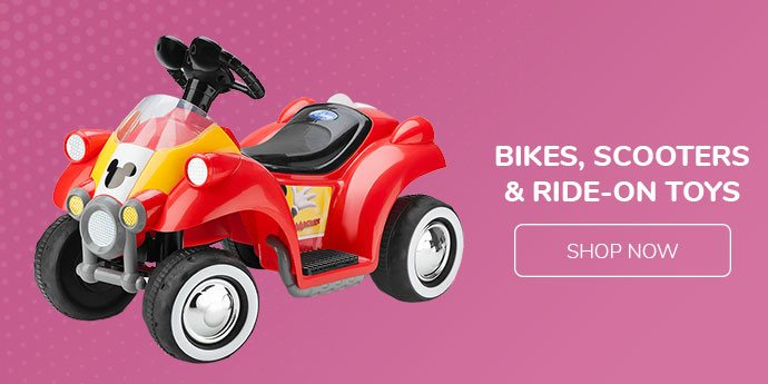 Bikes, Scooters & ride-on toys