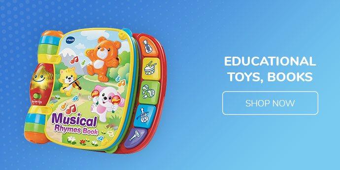 Educational Toys, Books