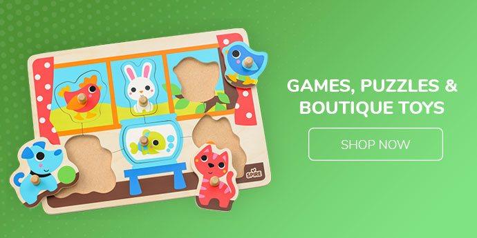 Games, Puzzles & Boutique Toys