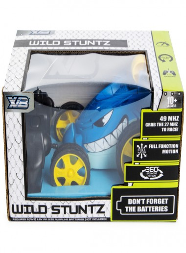 Shark remote control stunt car