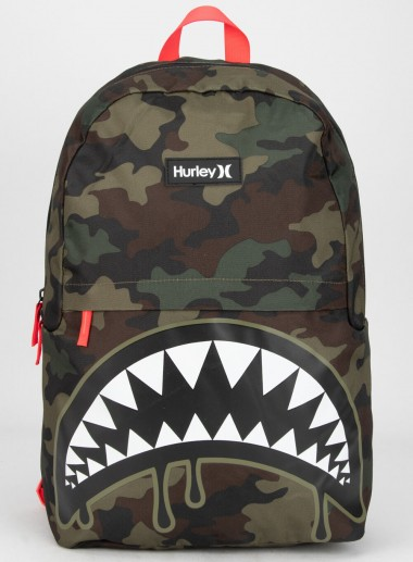 HURLEY Shark Bait Camo Backpack