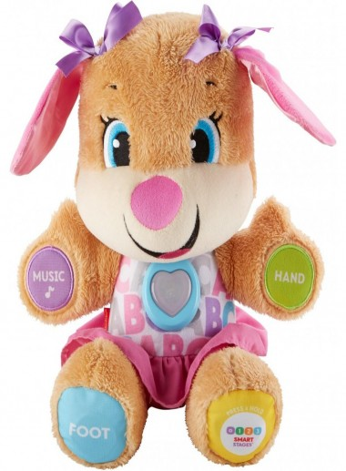 Fisher-Price Laugh & Learn Smart Stages Sis with 75+ Songs & Sounds- Girl