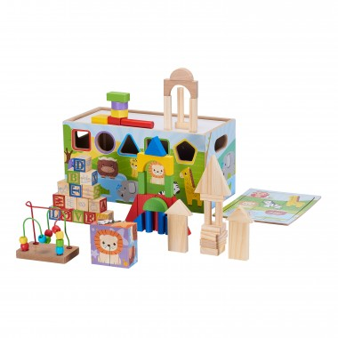10-in-1 Activity Trunk, 72 Pieces