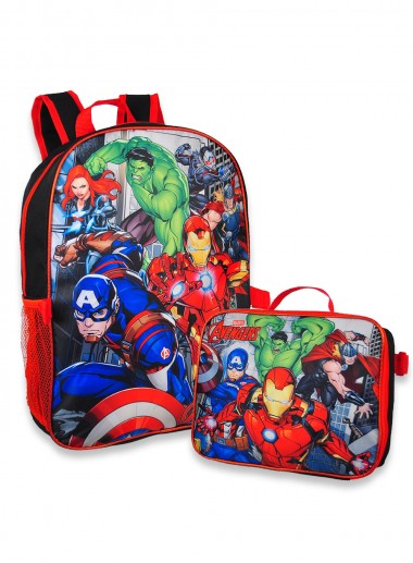 Marvel Backpack with Lunchbox